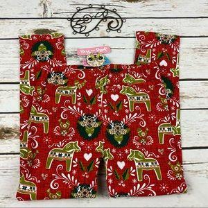 Jelly The Pug Pants 8 Girls Holiday Christmas